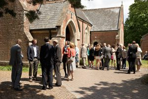 Church Wedding Ceremony Dorset